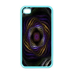 Abstract Fractal Art Apple iPhone 4 Case (Color)
