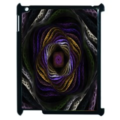 Abstract Fractal Art Apple iPad 2 Case (Black)