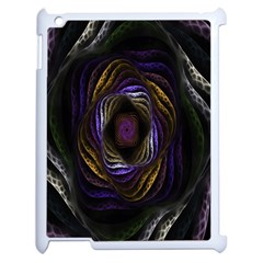 Abstract Fractal Art Apple iPad 2 Case (White)