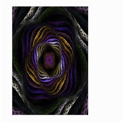 Abstract Fractal Art Large Garden Flag (Two Sides)