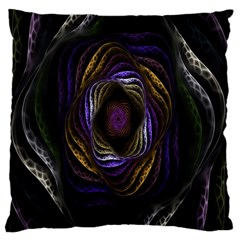 Abstract Fractal Art Large Cushion Case (one Side)