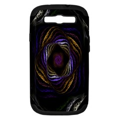 Abstract Fractal Art Samsung Galaxy S III Hardshell Case (PC+Silicone)