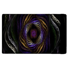 Abstract Fractal Art Apple iPad 3/4 Flip Case