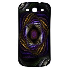 Abstract Fractal Art Samsung Galaxy S3 S III Classic Hardshell Back Case