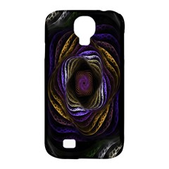 Abstract Fractal Art Samsung Galaxy S4 Classic Hardshell Case (pc+silicone)