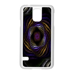 Abstract Fractal Art Samsung Galaxy S5 Case (White)