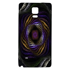 Abstract Fractal Art Galaxy Note 4 Back Case