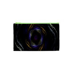 Abstract Fractal Art Cosmetic Bag (XS)