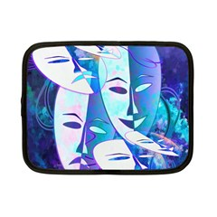 Abstract Mask Artwork Digital Art Netbook Case (Small)