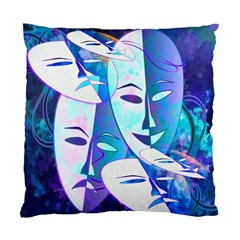 Abstract Mask Artwork Digital Art Standard Cushion Case (Two Sides)