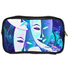 Abstract Mask Artwork Digital Art Toiletries Bags 2-Side