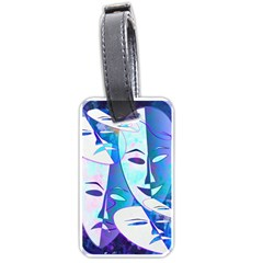 Abstract Mask Artwork Digital Art Luggage Tags (One Side)