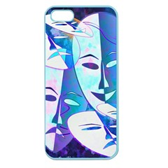 Abstract Mask Artwork Digital Art Apple Seamless iPhone 5 Case (Color)