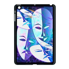 Abstract Mask Artwork Digital Art Apple iPad Mini Case (Black)