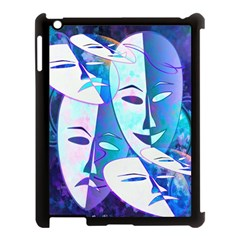 Abstract Mask Artwork Digital Art Apple Ipad 3/4 Case (black)