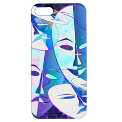 Abstract Mask Artwork Digital Art Apple Iphone 5 Hardshell Case With Stand
