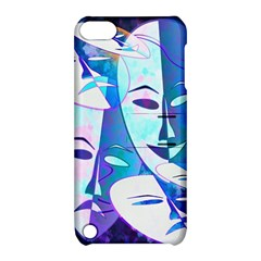 Abstract Mask Artwork Digital Art Apple Ipod Touch 5 Hardshell Case With Stand