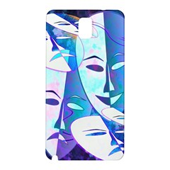 Abstract Mask Artwork Digital Art Samsung Galaxy Note 3 N9005 Hardshell Back Case