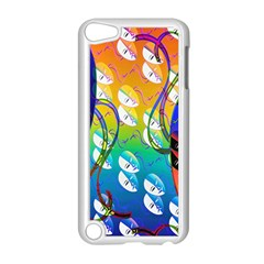 Abstract Mask Artwork Digital Art Apple iPod Touch 5 Case (White)