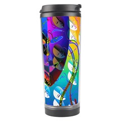 Abstract Mask Artwork Digital Art Travel Tumbler
