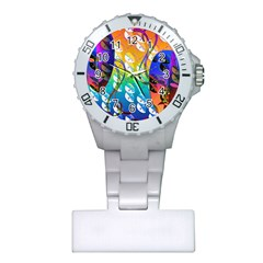 Abstract Mask Artwork Digital Art Plastic Nurses Watch