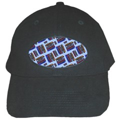 Abstract Pattern Seamless Artwork Black Cap