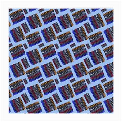 Abstract Pattern Seamless Artwork Medium Glasses Cloth