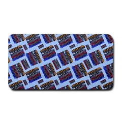 Abstract Pattern Seamless Artwork Medium Bar Mats
