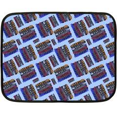 Abstract Pattern Seamless Artwork Fleece Blanket (Mini)