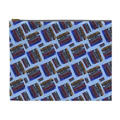 Abstract Pattern Seamless Artwork Cosmetic Bag (XL)