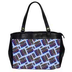 Abstract Pattern Seamless Artwork Office Handbags (2 Sides)