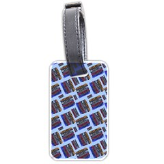 Abstract Pattern Seamless Artwork Luggage Tags (Two Sides)