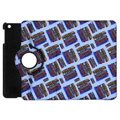 Abstract Pattern Seamless Artwork Apple Ipad Mini Flip 360 Case