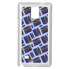 Abstract Pattern Seamless Artwork Samsung Galaxy Note 4 Case (white)