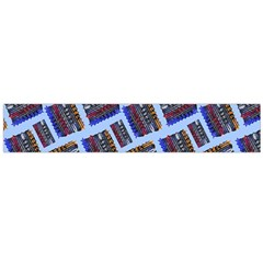 Abstract Pattern Seamless Artwork Flano Scarf (large)