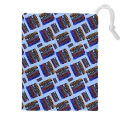 Abstract Pattern Seamless Artwork Drawstring Pouches (XXL)