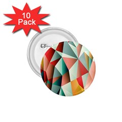 Abstracts Colour 1.75  Buttons (10 pack)