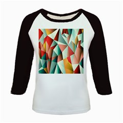 Abstracts Colour Kids Baseball Jerseys