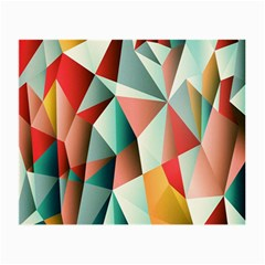 Abstracts Colour Small Glasses Cloth