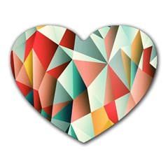 Abstracts Colour Heart Mousepads