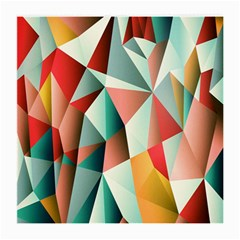 Abstracts Colour Medium Glasses Cloth (2-Side)