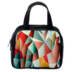 Abstracts Colour Classic Handbags (one Side)