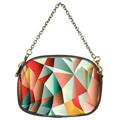Abstracts Colour Chain Purses (one Side)