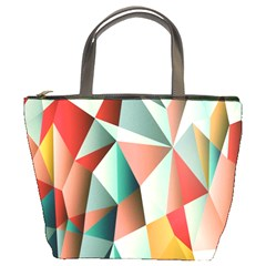 Abstracts Colour Bucket Bags