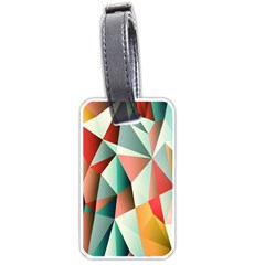 Abstracts Colour Luggage Tags (Two Sides)