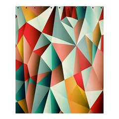 Abstracts Colour Shower Curtain 60  x 72  (Medium)