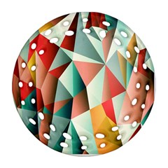 Abstracts Colour Ornament (Round Filigree)