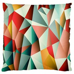 Abstracts Colour Large Cushion Case (One Side)