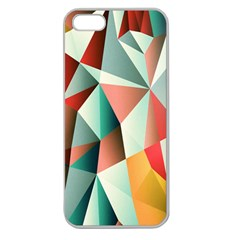 Abstracts Colour Apple Seamless Iphone 5 Case (clear)