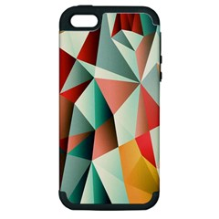 Abstracts Colour Apple iPhone 5 Hardshell Case (PC+Silicone)